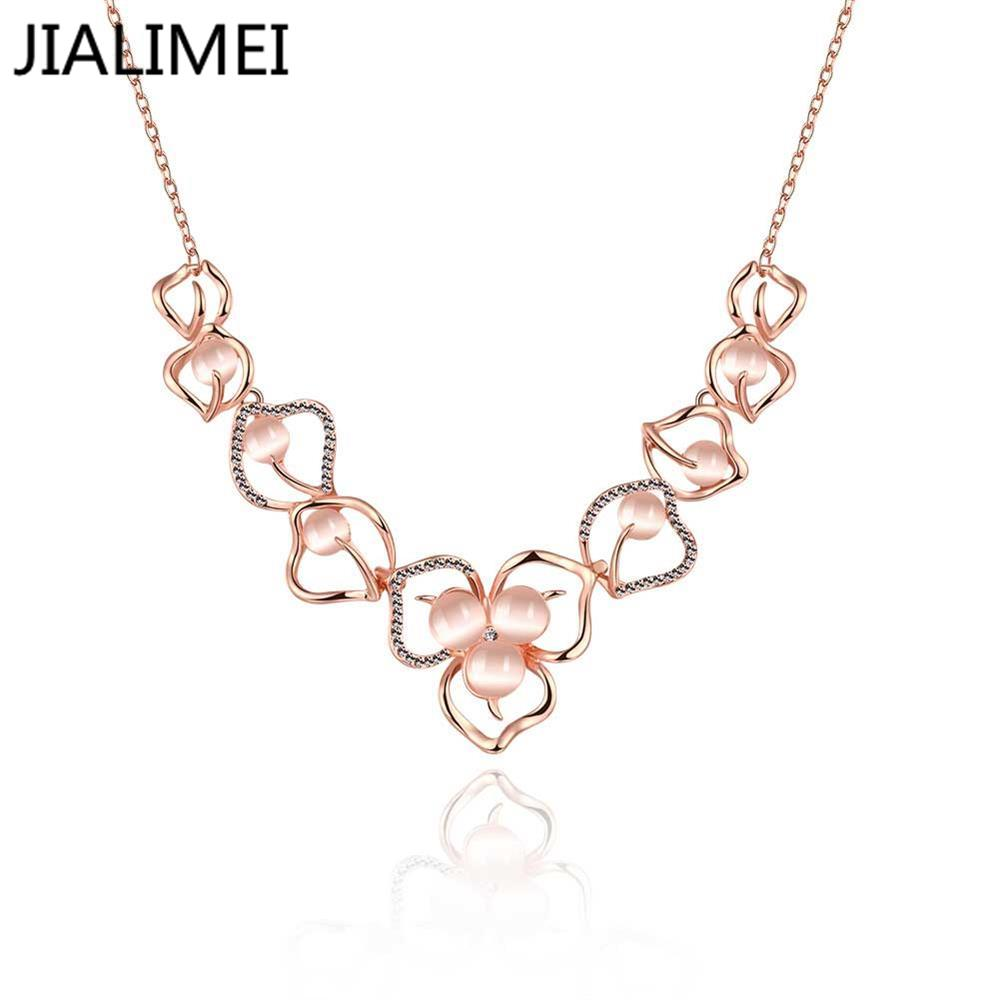 Top Quality Necklace Gold Pated Pendant Necklace Jewelry Austrian Crystal Wholesale N926-B