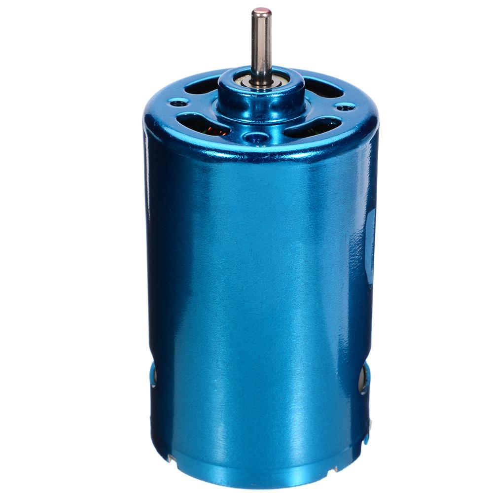 DC 12V 24V 30000RPM High Speed Motor RS-550 Motor Large Torque Motor Low Noise Motors For RC Car Boat Model