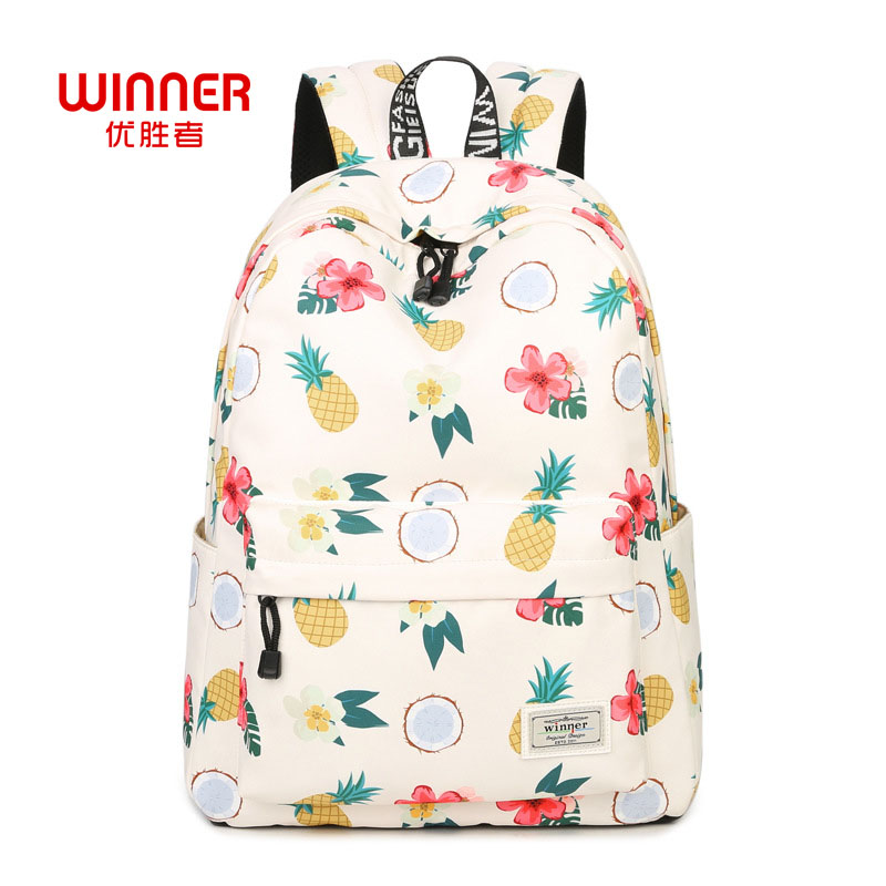 WINNER Casual Women Backpack Shoulder School Bags Bookbag For Teenagers Girls Schoolbag Laptop Backbag Travel Hand Bag Mochila