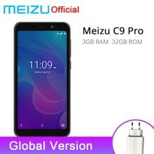 Resmi Küresel Sürüm Meizu C9 Pro 3 GB 32 GB Cep Telefonu Quad Core 5.45 ''1440X720 P ön 13MP Arka 13MP 3000 mAh Pil