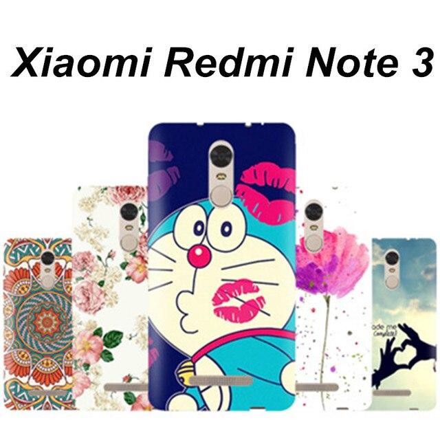 Xiaomi Redmi Note 3 case cover Hard plastic case for Xiaomi note redmi 3 plastic case Cartoon xiomi redmi note 3 case