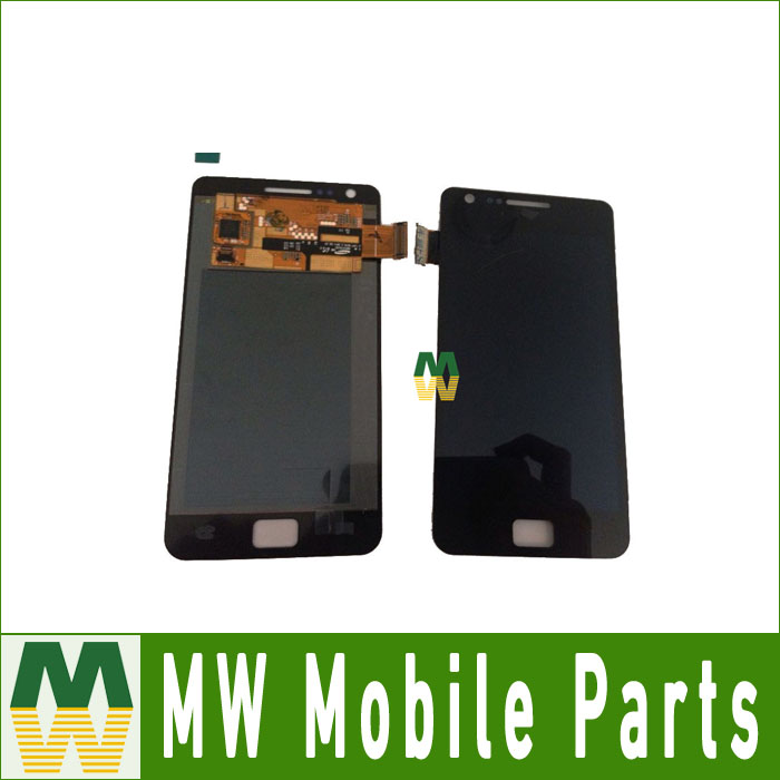 1 PC / Lot Original Quality For Samsung Galaxy S2 i9100 LCD +Touch Screen Digitier Assembly Black White color