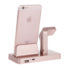Phone Charging Dock Station Bracket For IPhone X 8 7 6S Plus Cradle Stand Holder Charger Dock For Apple Watch Charger стоимость