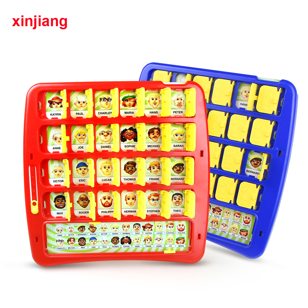 Xinjiang Board Game Who Is It Fun Guess Game Memory Training Family Parent-Child Interactive Educational Gift Toys For Kids