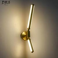 Designer Wall Lights for Home Modern Creative Individuality Loft Decor Bedroom LED Wall Lamp Vanity Light Living Room Fixtures