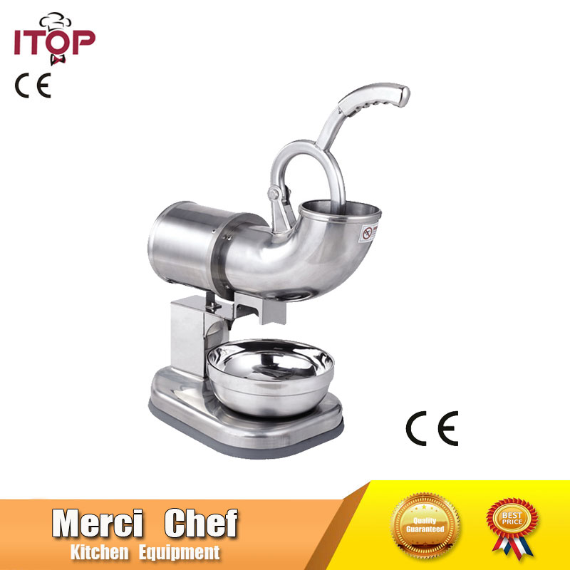 Free Shipping To USA SBT114 Ice Crusher and Shavers Commercial Use 110V Snow Maker Stainless Steel Food Machine Household fast food leisure fast food equipment stainless steel gas fryer 3l spanish churro maker machine