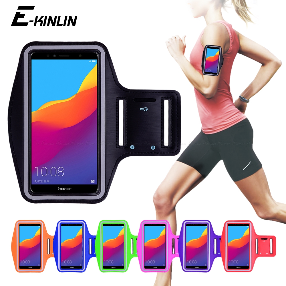 Gym Running Sports Workout Armband Phone Case Cover For Huawei Honor