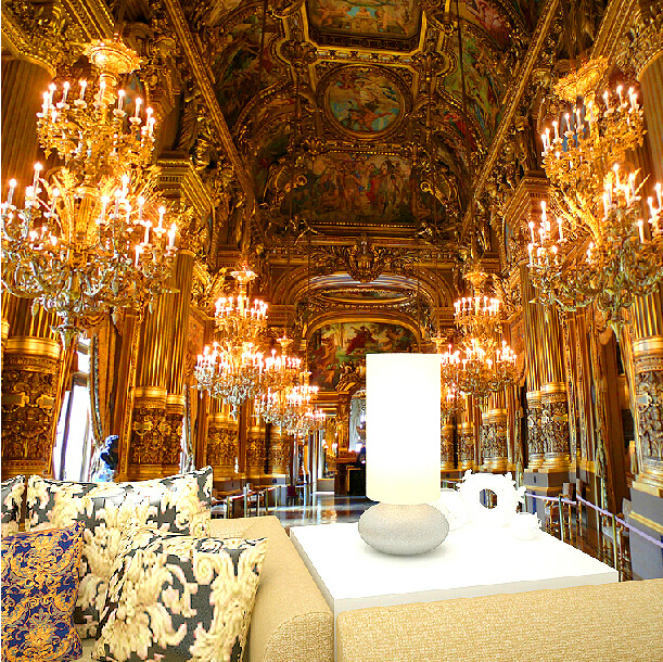 2015 Limited Real European Castle Interior Scenery Luxury