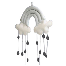Child Tent Accessories Home Decoration Creative Dimensional Clouds Raindrop Bedside Pendant Props