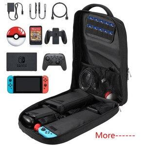Image 5 - Sırt çantası saklama çantası Nintendo anahtarı için Nintendoswitch konsol çantası için dayanıklı Nintendo organizatör NS Nintendo anahtarı aksesuarları