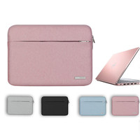 Women Man Laptop Bag Sleeve For Xiaomi Air 12 13 New Notebook Soild Zipper Carrying Case