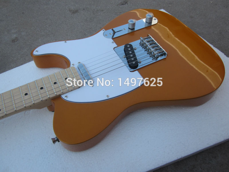 free shipping wholesale 2015 new fen tl electric guitar gold color oem brand guitar in china in. Black Bedroom Furniture Sets. Home Design Ideas