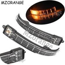 MZORANGE Outside Rearview Mirror LED Turn Signal Light For KIA K2 2011 2012 2013 2014 2015 2016 2017 Mirror Side Door Flash Lamp