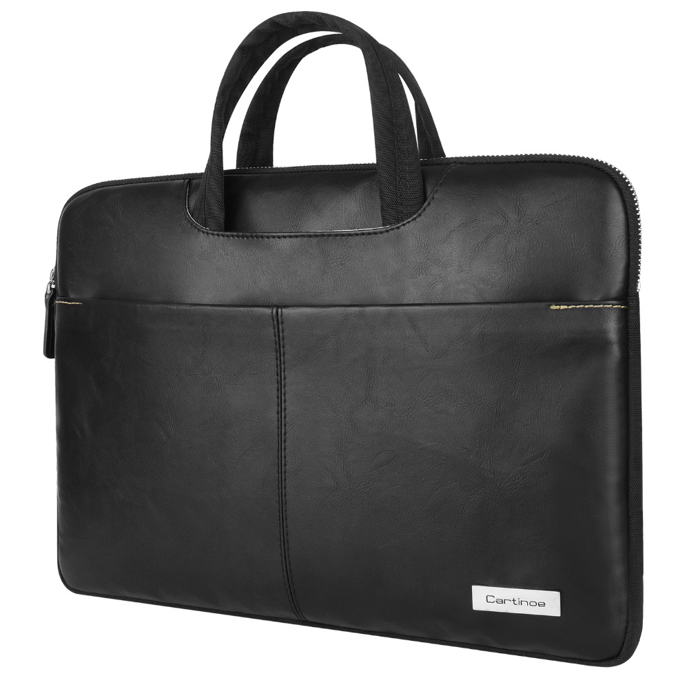 Cartinoe PU Leather Laptop Sleeve Case for