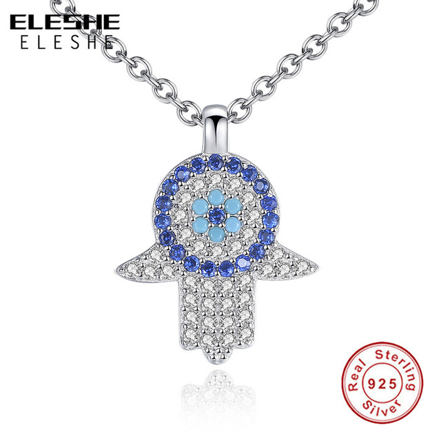 charm evil fatimah pendant hamsa diamond eye gold yellow hand