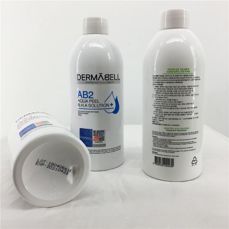 AA1+AB2+AM3 Aqua Peeling Solution 400ml Per Bottle Aqua Facial Serum Hydra Facial Serum For Normal Skin CE
