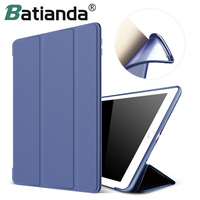 For New IPad 2017 IPad 9 7 Inch Case Ultra Slim Lightweight Smart Case Trifold Cover