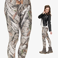 Camo Leggings Women Girl Funny 3D camo trees Printed Adventure Time Adventure Time Workout Leggings
