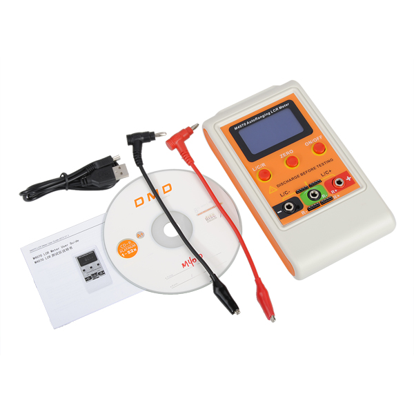 M4070 Handheld Auto-Ranging LCD Display L C R Bridge Capacitance Inductance Meter with USB Cable High Quality цена