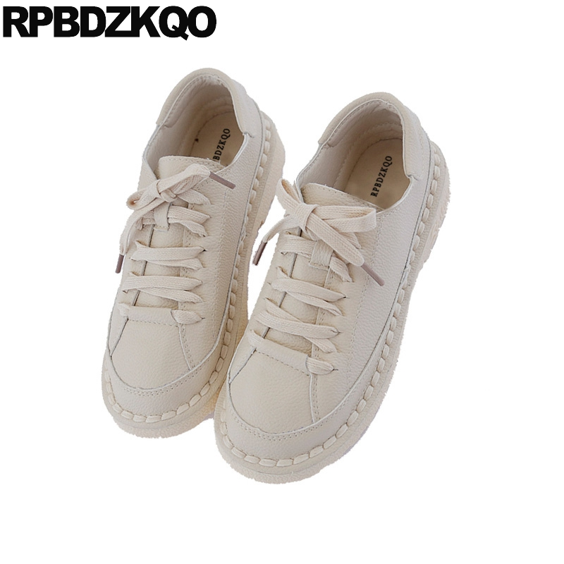 Harajuku Dames frosted Lacent frosted Chinois Femmes rouge noir Bout Suede Designer Japonais Vert Beige Sneakers Appartements Casual 2018 frosted Blanc Black Traditionnel Chaussures frosted Rond blanc ffX70B