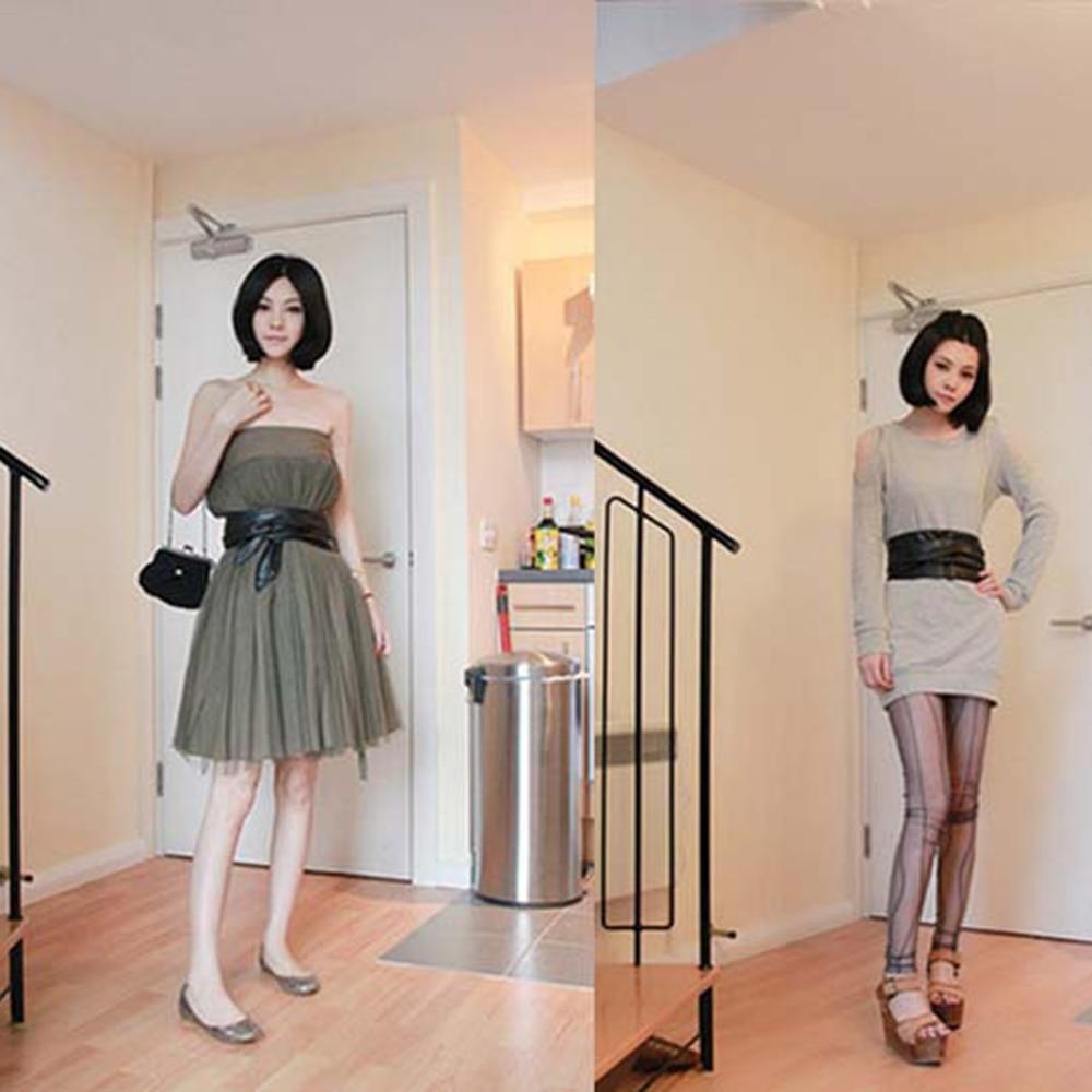Fashion Slim Girdle Belt Ties Bow Bands Lace Up PU Leather Women Girl Wide Corsets Cummerbunds Strap Belts Dropshipping
