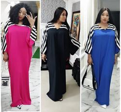 2019 neue mode Afrikanische Druck Elastische Bazin kleider Stil Dashiki kleid für frauen/dame