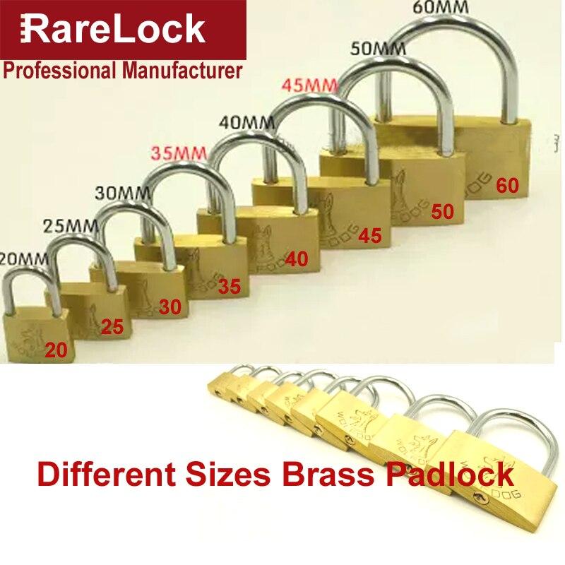 4b9496b77a16f Rarelock عالية الجودة النحاس 7 حجم الباب ، الحقائب ، الأمتعة ، بوابة ، مربع  ، حالة أقفال مع مفاتيح الأجهزة قفل a