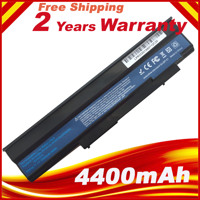 6Cell Laptop Battery for Acer Extensa 5235 5635 5635G 5635Z 5635ZG eMachines E528 E728 AS09C31 AS09C71 4400mah battery for acer extensa 5210 5220 5235 5420g 5620g 5620z 5630 5630g 5635 5635g 5635z 7220 7620 7620g grape32 grape34