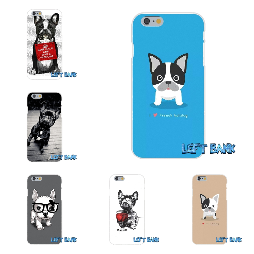 Cute french bulldog Dogs Slim Silicone Phone Case For Xiaomi Redmi 2 4 3 3S Pro Mi3 Mi4 Mi4C Mi5S Mi Max Note 2 3 4
