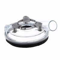Dust Shroud Kit Dry Grinding Dust Cover For Angle Hand Grinder Clear 4 5