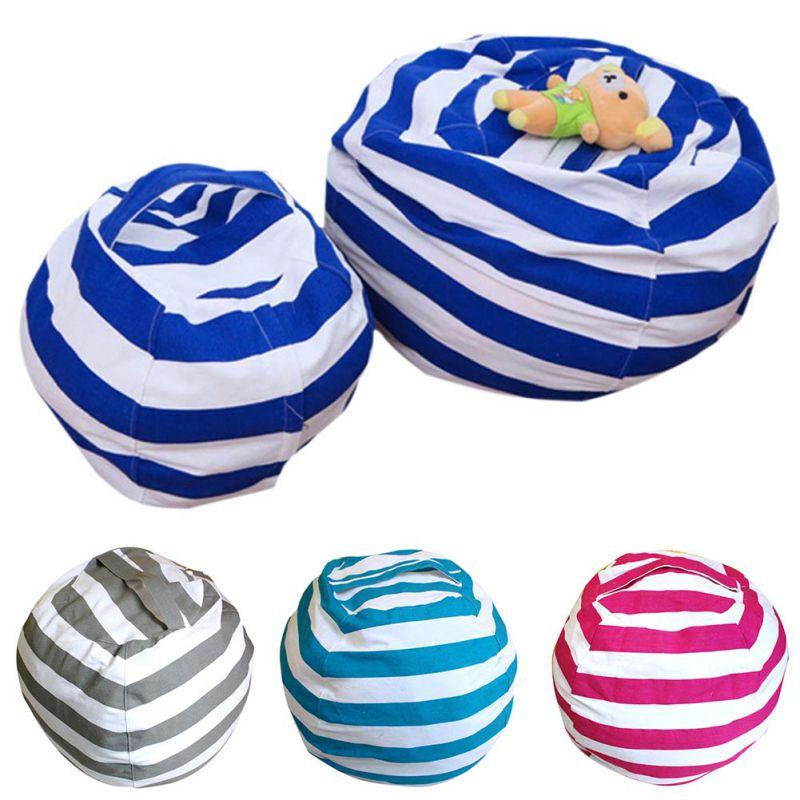 Storage Bean Bag Stuffed Childre