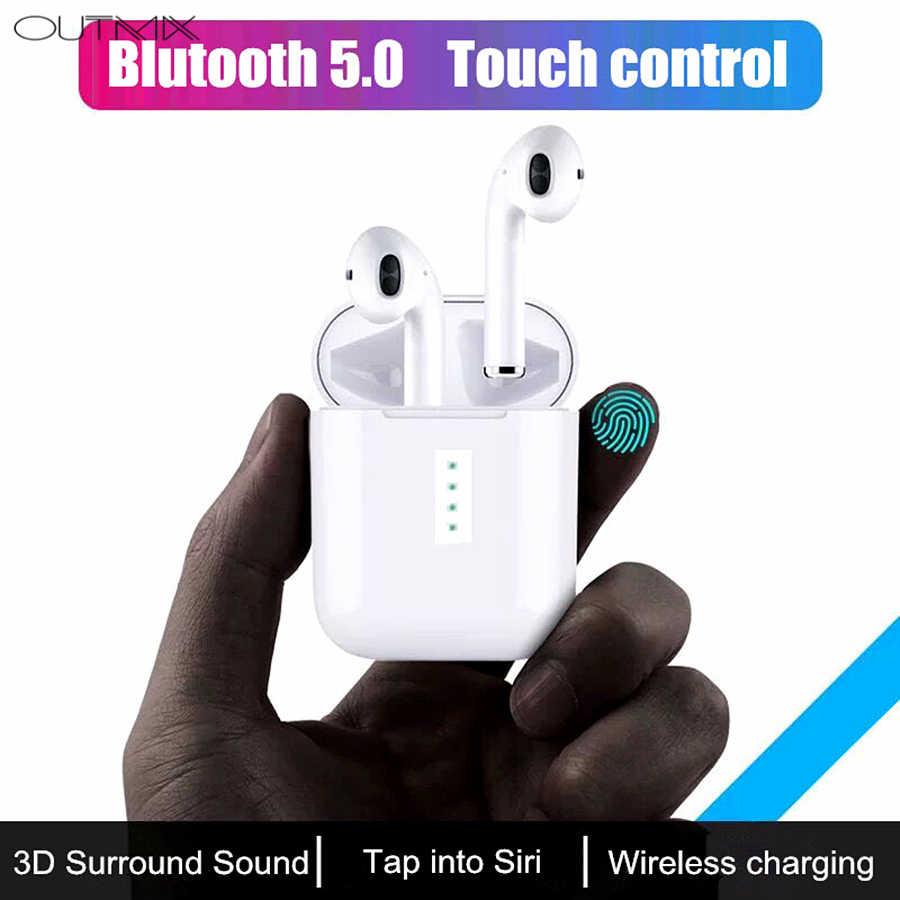 4df7f1a4ca6 ... OUTMIX i10 tws auriculares Bluetooth auriculares inalámbricos  auriculares Bluetooth 5,0 auriculares en auriculares de ...