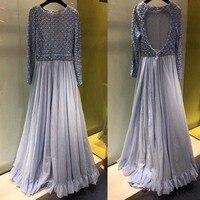 2018 women labor intensive beading party long dress amazing backless dress elegant slim mix dress unique vestidos de fiesta