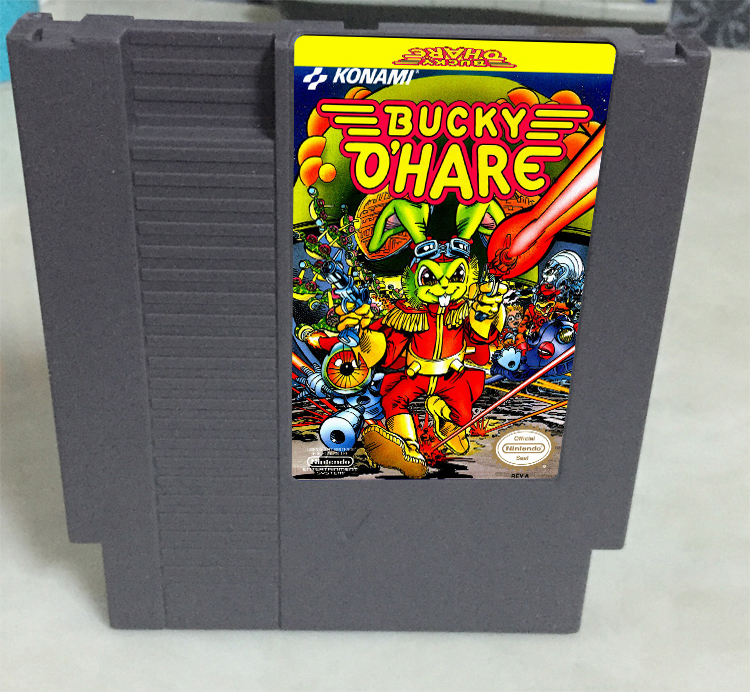 New arrival 72 pins 8 bit game cartridge free shipping — Bucky O Hare
