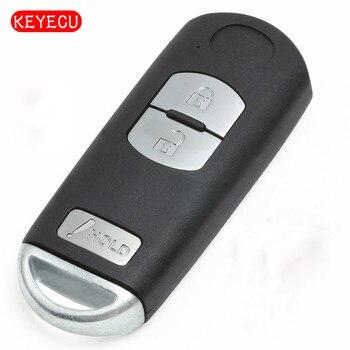 Keyecu 3 Botão Inteligente Remoto Chave Fob FSK 315 mhz ID49 Chip para Mazda Velocidade CX-3 CX-5 3 FCC: SKE13D01