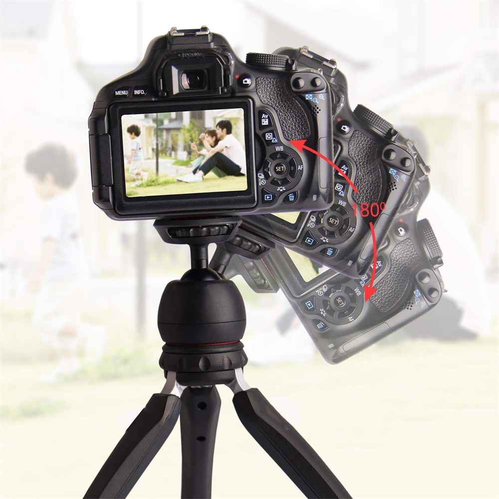 Phone Tripod Camera Stand Premium Mini Selfie Hand  Tabletop Tripod -4