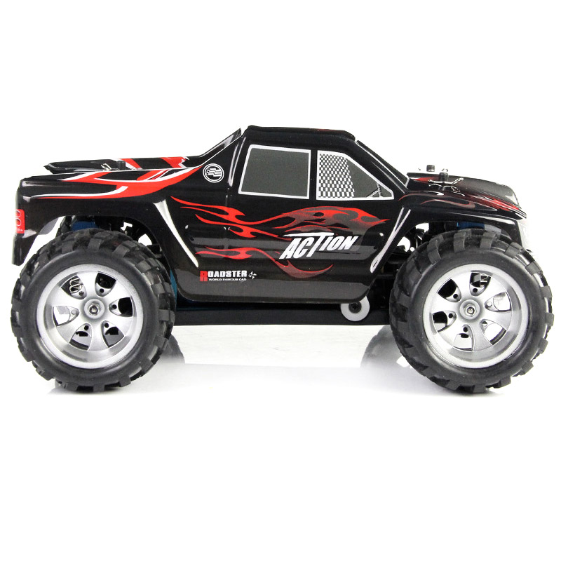 RC Car 2.4G 1/18 Scale 4WD Remote Control Model High Speed Off-Road RC Buggy For Wltoys A979 Vehicle Toys Children Gifts FJ88 rc car 2 4g 1 18 scale 4wd remote control model high speed off road rc buggy for wltoys a979 vehicle toys children gifts m09