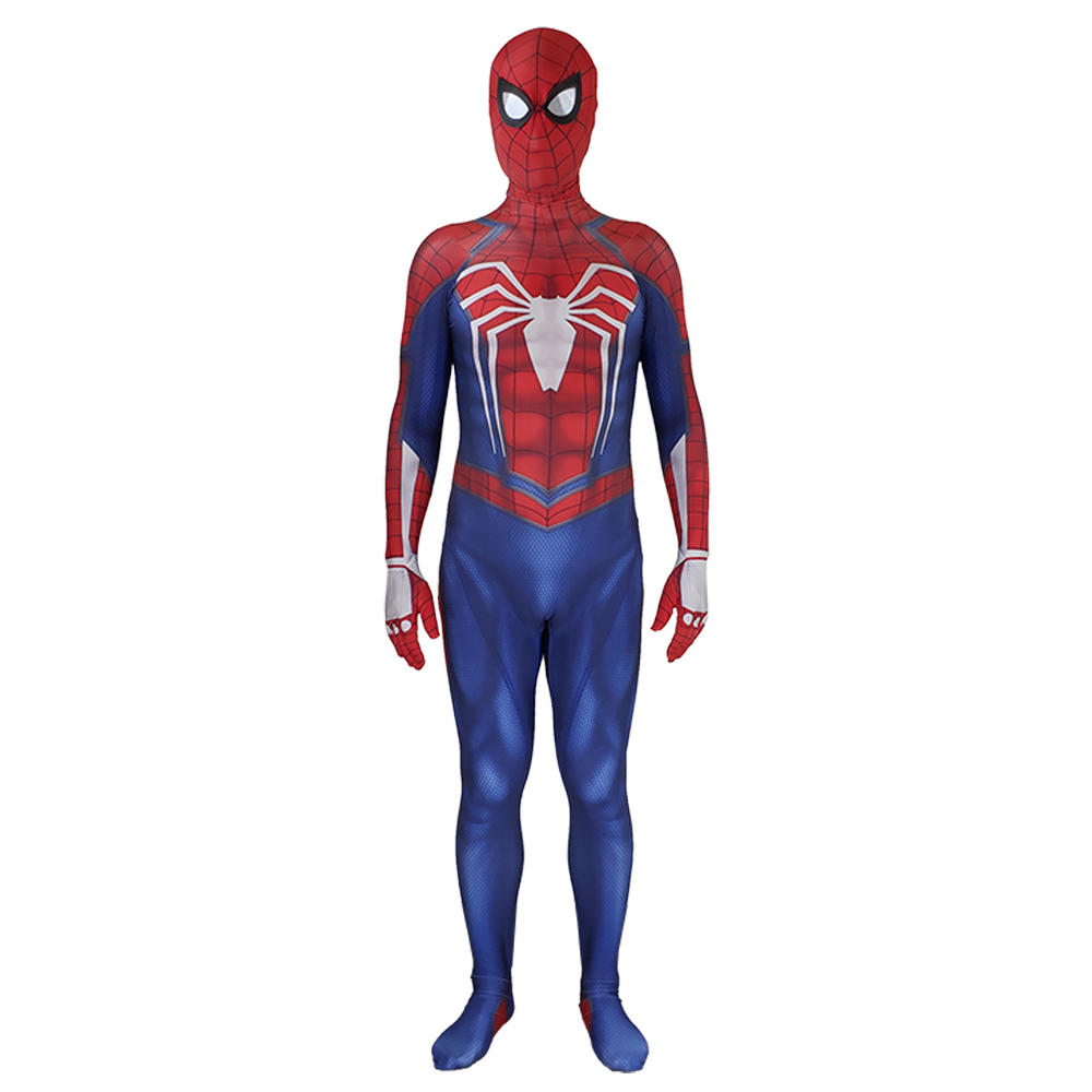2019 New Spiderman Costume 3D Printed Kids Adult Lycra Spandex Spider-man Costume For Halloween Mascot Cosplay