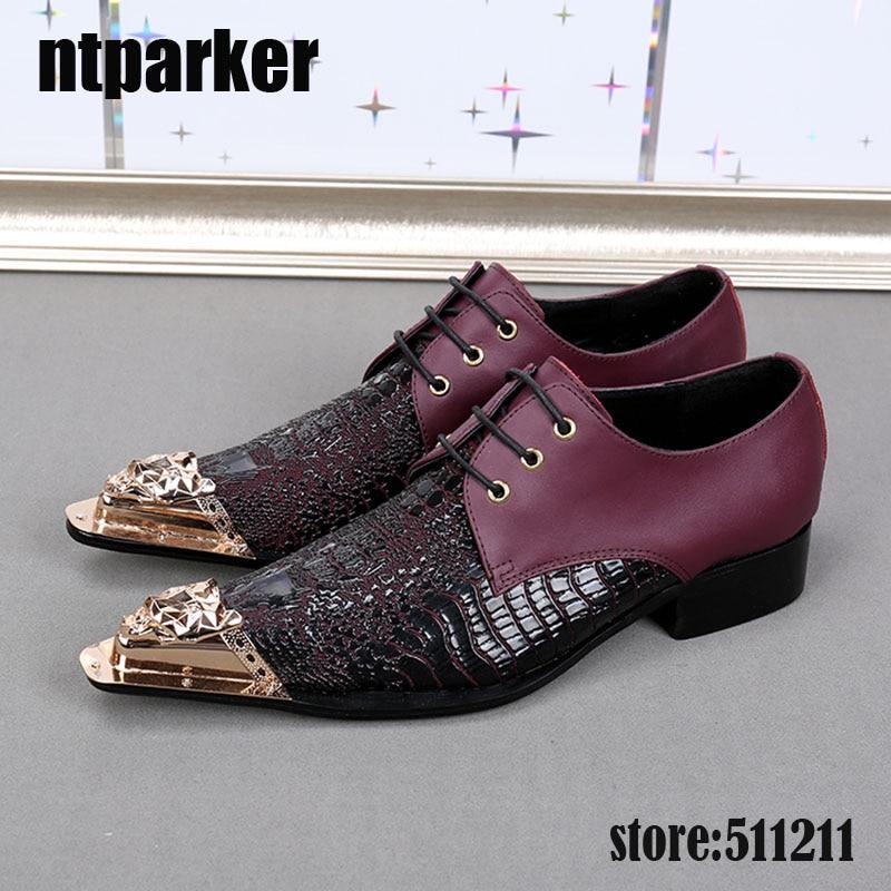 ntparker Custom Handmade Genuine Leather Men