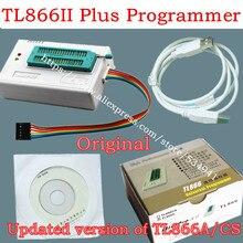 V10.22 Xgecu TL866II Plus Usb Programmeur Nand Flash 24 93 25 Mcu Bios Eprom Vervangen TL866CS/TL866A Progrmamer