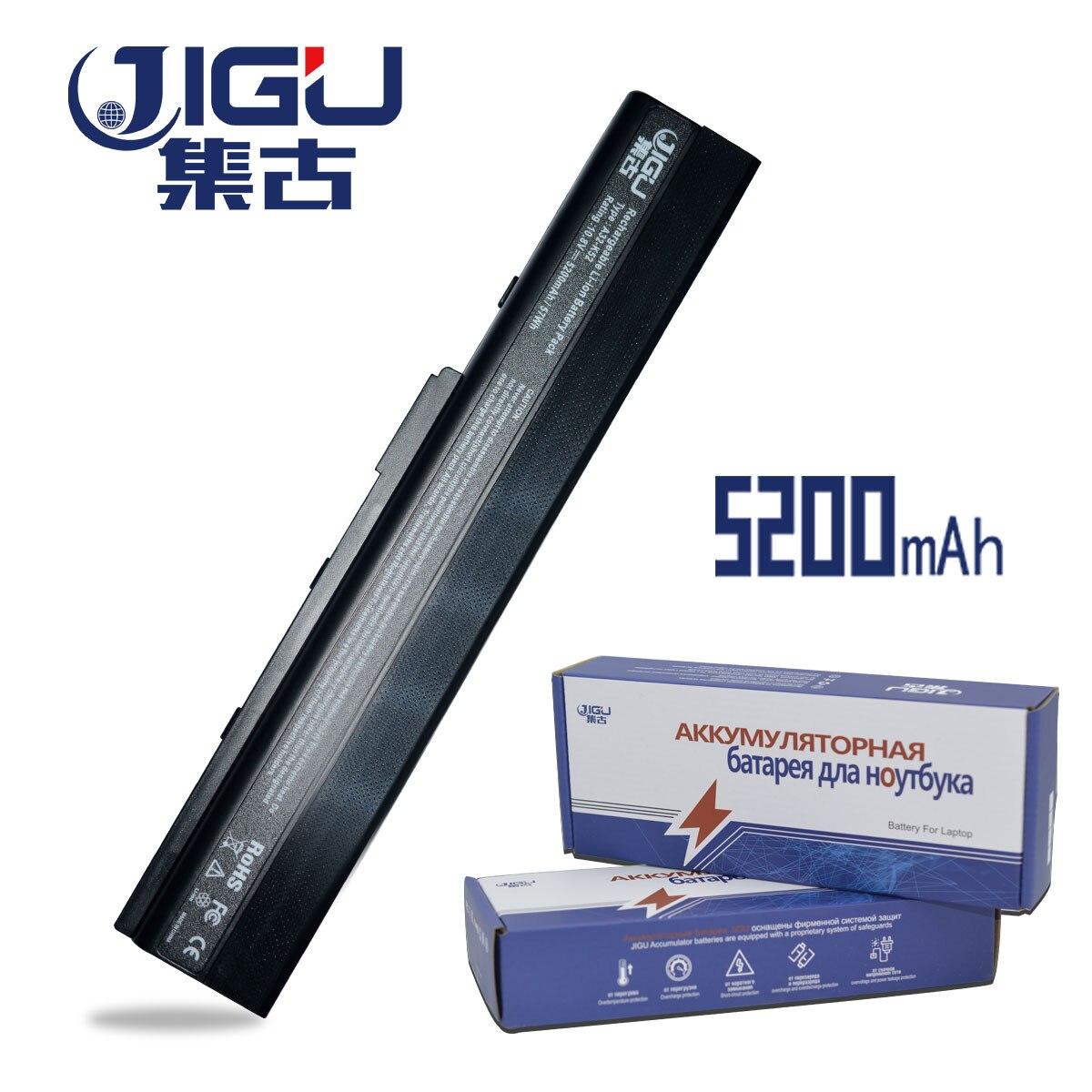 JIGU Haute Qualiy Batterie D'ordinateur Portable Pour Asus K52J K52JB K52JC K52JE K52JK K52JR K52N K52D K52DE K52DR K52F K62 K62F k62J K62JR N82