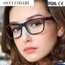 OCCI CHIARI High Quality Acetate Eyewear Italy Design Prescription Glasses Optical Glasses Clear Eyeglass Woman Frame W-ZELCO