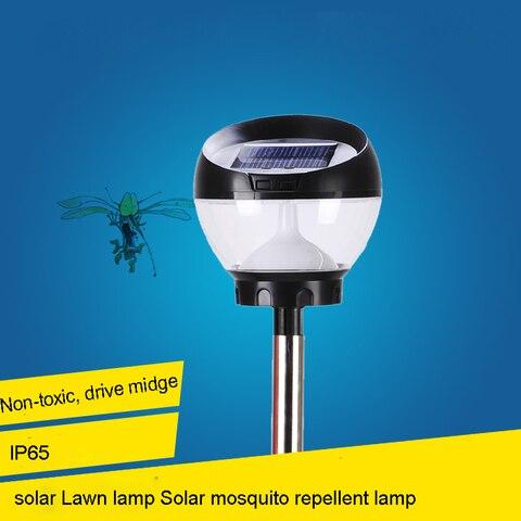 as luzes solares levou lampada repelente de mosquitos lampada solar lampada do gramado ao ar