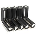 10pcs/lot High quality Cylindrical 3 AAA Plastic Battery Holder Case Box For Flashlight Torch 3.7V Lithium Battery Case Holder