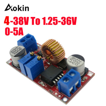 5A Dc-Dc XL4015 DC to DC CC CV Lithium Battery Step down Charging Board Led Power Converter Charger Step Down Module image