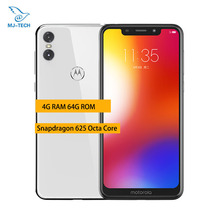 MOTO P30 Play Mobile phone 4G 64G 5.86 Inch 13MP+2MP 3000mAh 4G LTE Snapdragon 625 Octa Core Fingerprint ID Smartphone