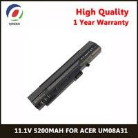 QINERN 11.1V 5200MAh Laptop Battery For ACER Battery For Laptop UM08A31 UM08A72 Notebook Battery A0A110 1041 AOD150 Bkdom