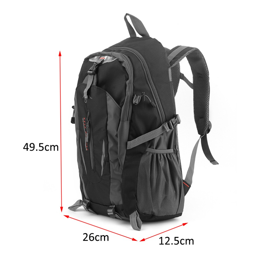 2018 Hot Sale Climbing Bags Nylon Black Backpack Waterproof Men s Back Pack  Laptop High Quality Designer Backpacks XNC-in Climbing Bags from Sports ... eb8f81a51c99b