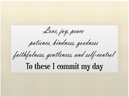 Perfect Free Shopping!LOVE JOY PEACE PATIENCE KINDNESS...Vinyl Wall Lettering  Stickers Quotes