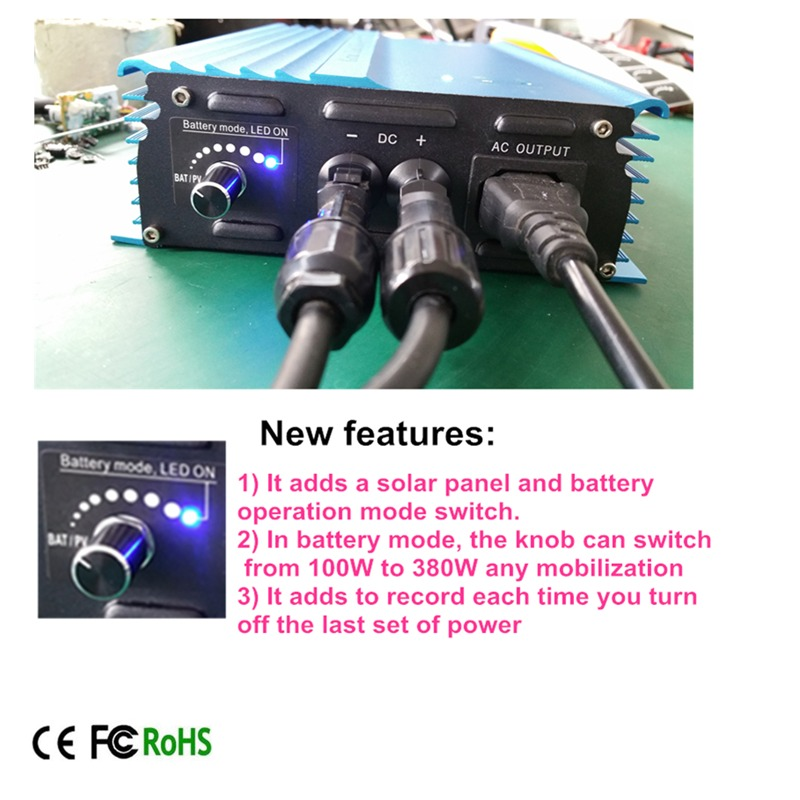 500 Watt Grid tie inverter,24V To AC120V or 230V high efficiency For battery 24v Adjustable Power Output pure sine wave inverter 500w solar inverters 85 125v grid tie inverter to ac120v or 230v high efficiency for 72v battery adjustable power output